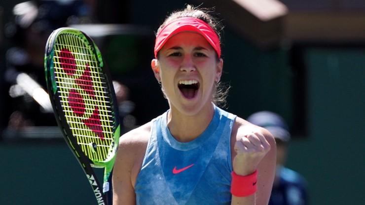WTA w Indian Wells: Bencic wygrała 12. mecz z rzędu. Tym razem z Pliskovą