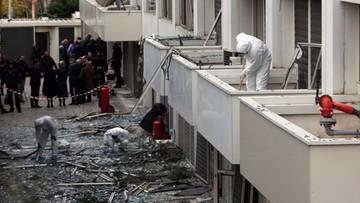 Wybuch bomby przed siedzibą telewizji w Grecji. Duże zniszczenia