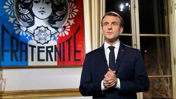 Trzy czwarte Francuzów jest niezadowolonych z Macrona