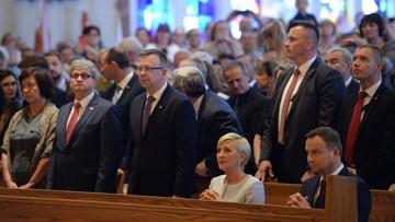 Prezydent modlił się przed Matką Bożą z Doleystown