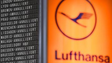 Lufthansa odwołuje 25 lotów do Warszawy, Krakowa i Wrocławia