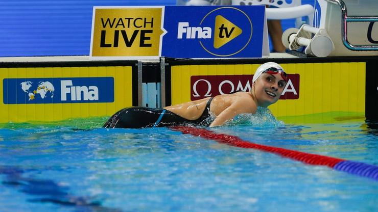 MŚ w pływaniu: Dwa rekordy świata amerykańskich sztafet