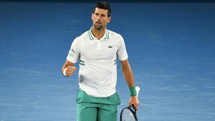Australian Open: Zwycięstwo numer 300! Novak Djokovic awansował do ćwierćfinału