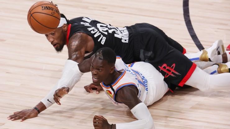NBA: Houston Rockets w półfinale Konferencji Zachodniej. Sensacja na Wschodzie?