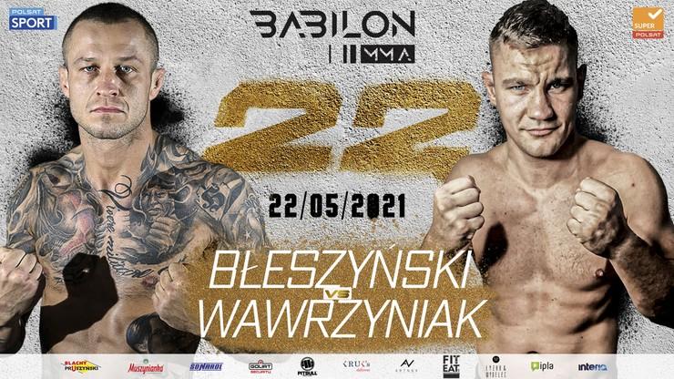 Babilon MMA 22. Transmisja TV i stream online