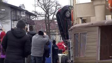 Dziwnów: samochód wyciągnięty z wody. W środku ofiary
