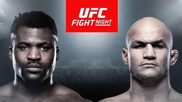 UFC: Ngannou - dos Santos. Karta walk