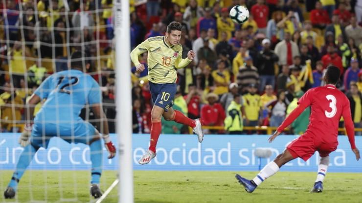 Zwycięstwo Kolumbii w meczu towarzyskim. Rodriguez wraca do zdrowia