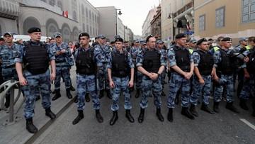 Demonstracja w obronie rosyjskiego dziennikarza. Ponad 400 zatrzymanych