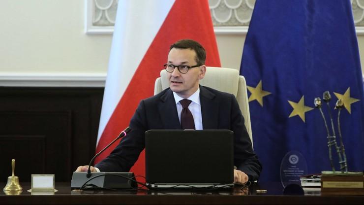 Morawiecki: drobne korekty w projekcie budżetu na 2020 r.