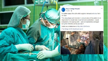 Lekarze usuwali jej guza mózgu. Ona grała w tym czasie na skrzypcach [WIDEO]
