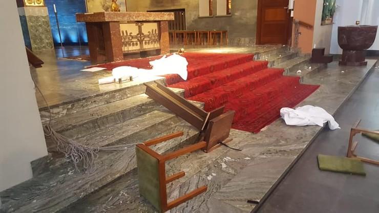 """Zdemolowany kościół w Szwecji. """"Jestem zszokowany"""""""