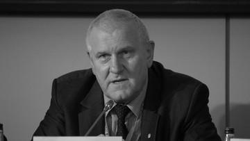 Zmarł Jan Guz, przewodniczący OPZZ. Miał 62 lata