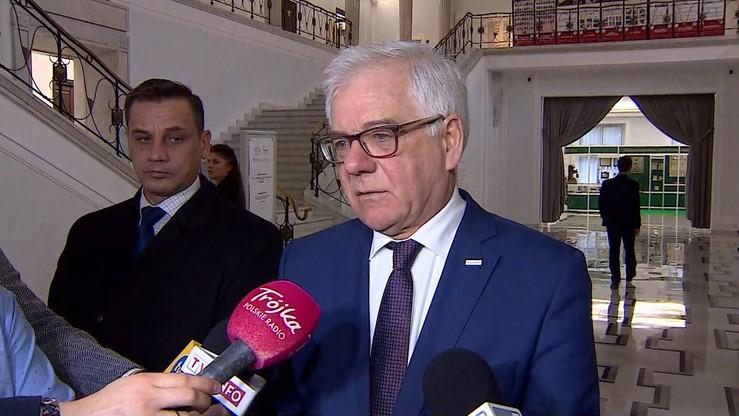 Czaputowicz o nominacji Andruszkiewicza: Polska jest suwerenna, rząd ma prawo decydowania