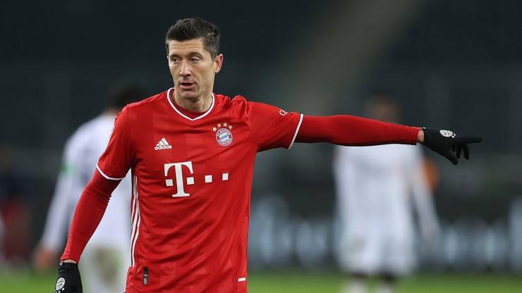 Bundesliga: Bayern niespodziewanie przegrał w Mönchengladbach. Robert Lewandowski z 20. bramką w tym sezonie