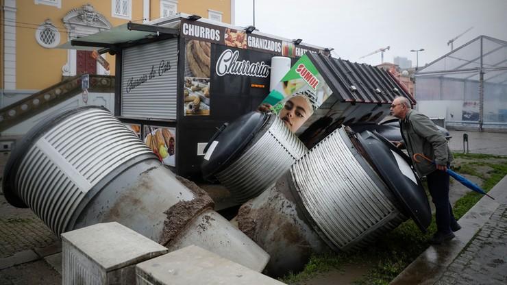 Tragiczne wichury w Portugalii i Hiszpanii. Sześć ofiar