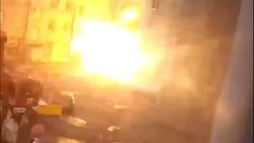 Wybuch stacji tlenowej w szpitalu dla chorych na COVID-19. Dwóch pacjentów zginęło