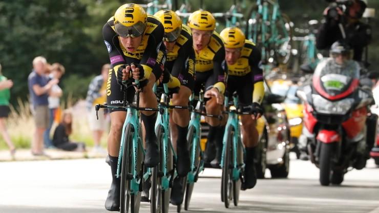 Tour de France: Jumbo wygrała drużynówkę, Teunissen nadal liderem
