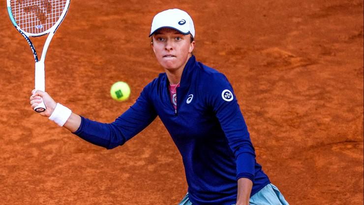 WTA w Rzymie: Iga Świątek - Alison Riske. Relacja na żywo
