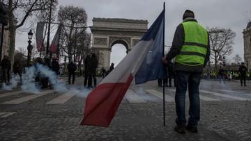 """Ponad 1700 aresztowanych podczas protestów """"żółtych kamizelek"""" we Francji"""