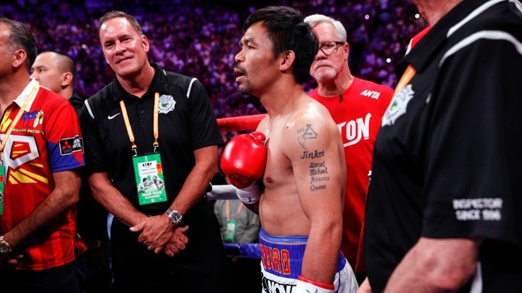 """Manny Pacquiao pozbawiony tytułu """"super czempiona"""" WBA w wadze półśredniej"""