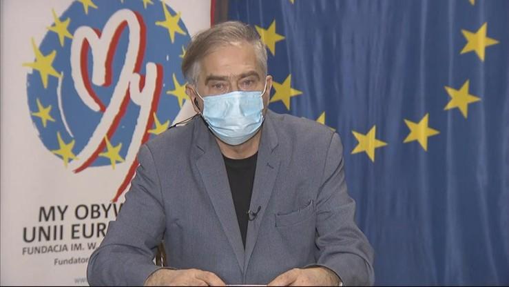 Łukaszewicz o szczepieniach poza kolejnością: dziś postąpiłbym tak samo