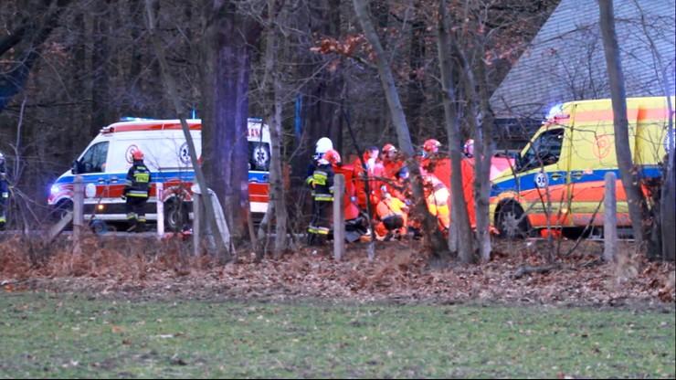 Tragiczny wypadek pod Opolem. Zginęli rodzice i niemowlę. 6-latek walczy o życie
