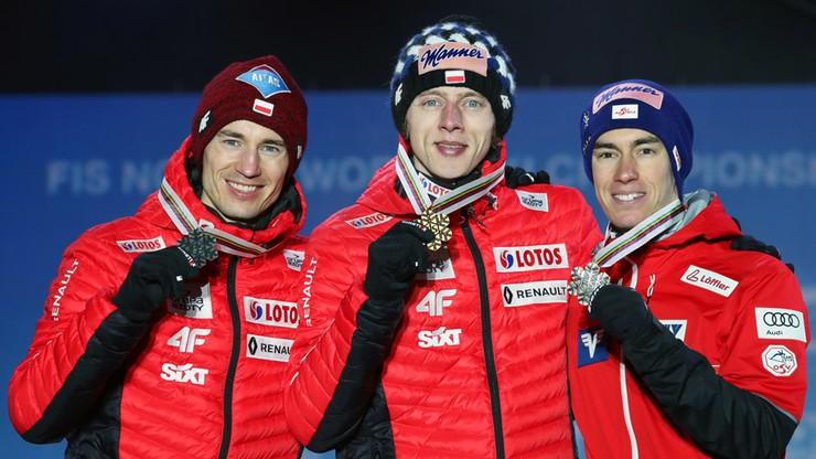 MŚ Seefeld 2019: Kubacki i Stoch odebrali medale