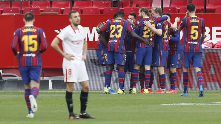 FC Barcelona pokonała Sevillę i jest wiceliderem