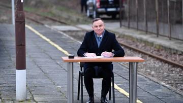 Prezydent podpisał ustawę na peronie dworca. Rusza program Kolej Plus