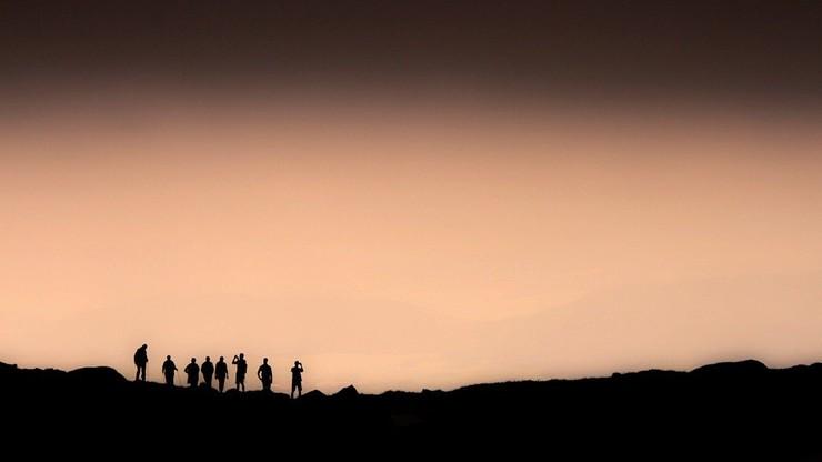Tatry. Czwórka obcokrajowców w nocy sprowadzana z Orlej Perci