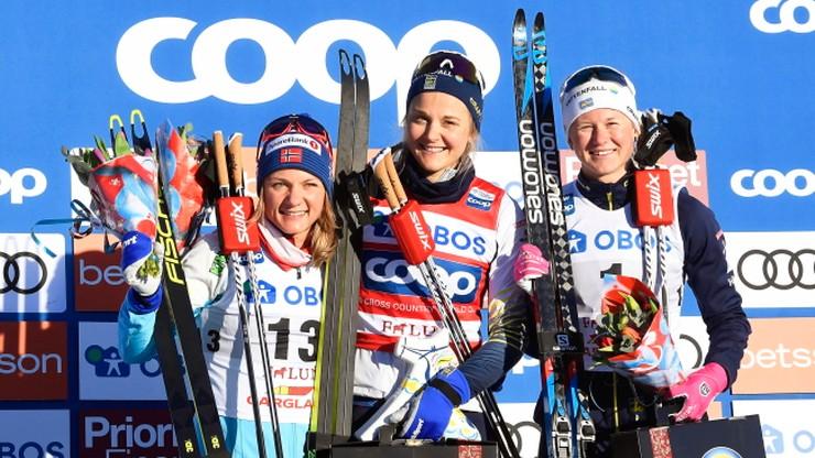 PŚ w biegach: Zwycięstwa Nilsson i Klaebo w sprintach