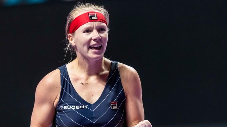 WTA Finals: Wygrane Bertens i Bencic