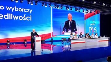 """Wybrano prezesa PiS. """"Po raz ostatni staję na czele partii"""""""