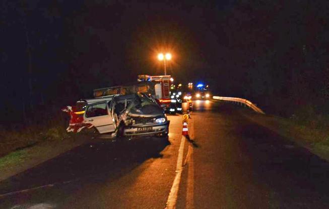 Do wypadku doszło po zmroku w Wejherowie.