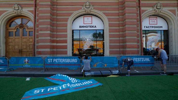 Euro 2020: W Sankt Petersburgu podjęto środki przeciw epidemii