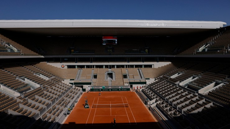 French Open: Ograniczono liczbę osób na kortach do tysiąca dziennie