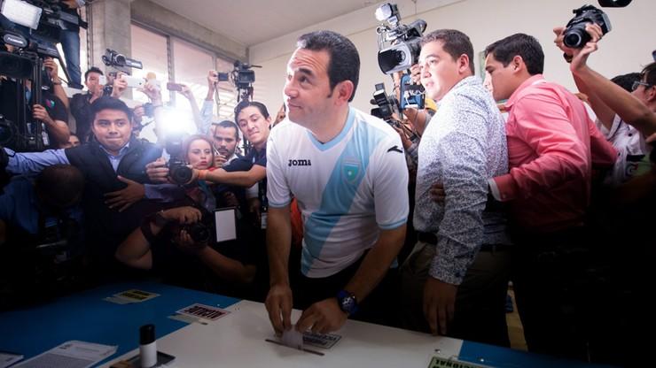 Komik prezydentem Gwatemali