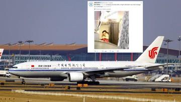 Złapał stewardessę i przyłożył jej do gardła wieczne pióro. Samolot musiał awaryjnie lądować
