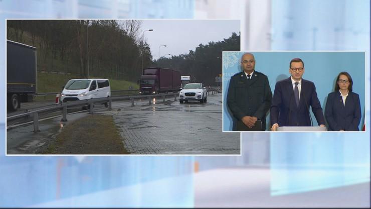 Premier: wdrażamy kontrole sanitarne na granicy z Niemcami i Czechami