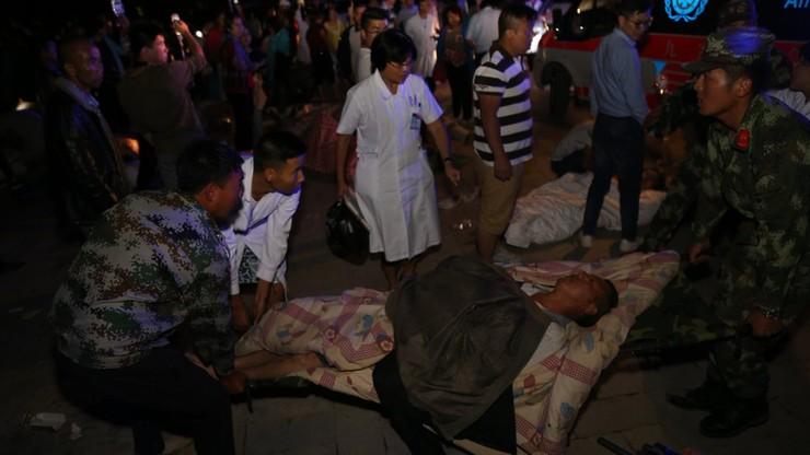 Trzęsienie ziemi w Chinach, możliwa setka ofiar śmiertelnych