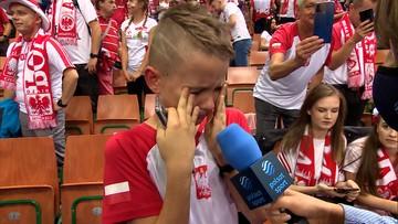 Kubiak doprowadził do łez młodego kibica i... mistrza świata (WIDEO)