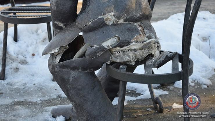 """16-latek zniszczył pomnik Himilsbacha. Zrobił to """"dla zabawy"""""""