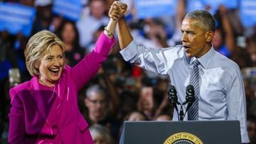 """""""Ameryka będzie z niej dumna"""". Obama pomaga Clinton na wspólnym wiecu przedwyborczym"""
