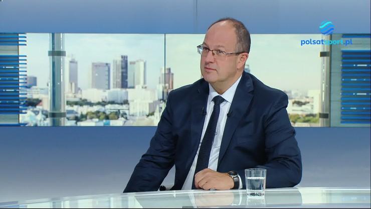Marian Kmita skomentował zapewnienie praw Telewizji Polsat do transmisji PlusLigi i Tauron ligi do 2028 r.