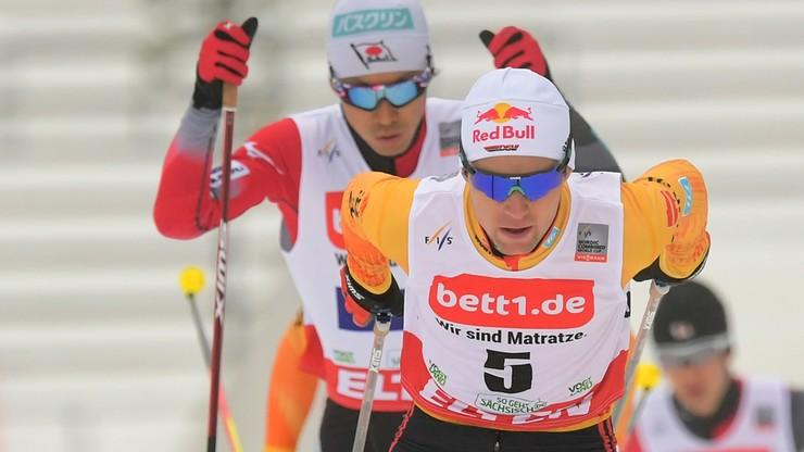 PŚ w kombinacji norweskiej: Druga wygrana Geigera w Klingenthal, Kupczak nie ukończył