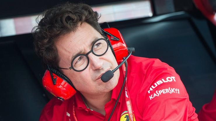 """Formuła 1: Trzecie miejsce """"minimalnym celem"""" Ferrari w 2021 r."""