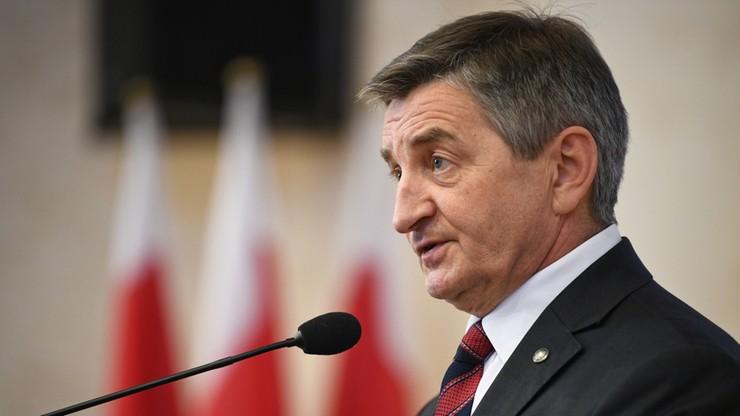 Kuchciński: do TK trafi stanowisko Sejmu o konstytucyjności tzw. ustawy dezubekizacyjnej