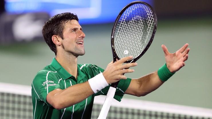 ATP w Dubaju: Djoković pokonał Francuza i zameldował się w finale