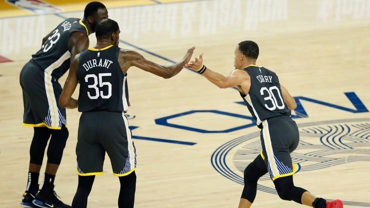NBA: Broniący tytułu Warriors w finale Konferencji Zachodniej